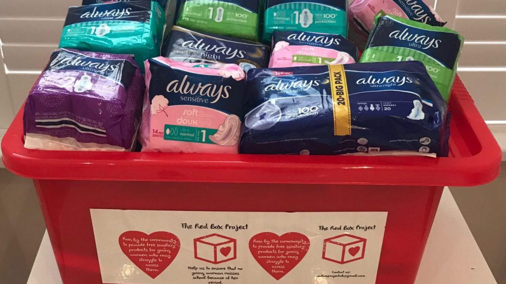 InstaPoets: Always to Donate a Pad to Red Box Project